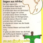 Segen aus Afrika